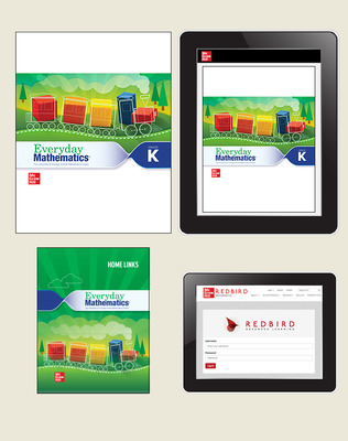 Everyday Math 4 Comprehensive Student Materials Set with Home Links and Redbird, 6-Years, Grade K