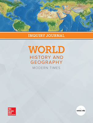 World History and Geography: Modern Times, Print Inquiry Journal, 7-year Fulfillment