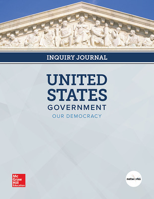 United States Government: Our Democracy, Print Inquiry Journal, 6-year Fulfillment