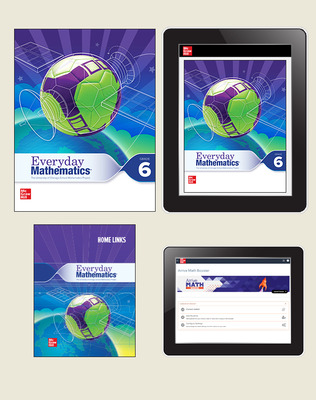 Everyday Math 4 Comprehensive Student Materials Set with Home Links and Arrive Math Booster, 7-Years, Grade 6