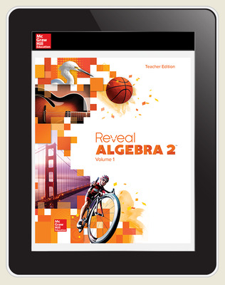 Reveal Algebra 2, Teacher Digital License, 6-year subscription