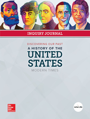 Discovering Our Past: A History of the United States-Modern Times, Print Inquiry Journal, 6-year Fulfillment