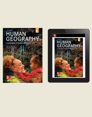 Bjelland, Human Geography: Landscapes of Human Activities, 2020, 13e, (AP Ed), Print and Digital Bundle (Student Edition with Online Student Edition), 6-year subscription