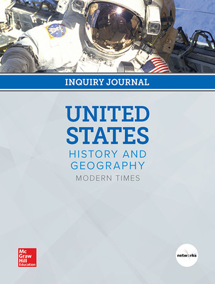 United States History and Geography: Modern Times, Print Inquiry Journal, 7-year Fulfillment