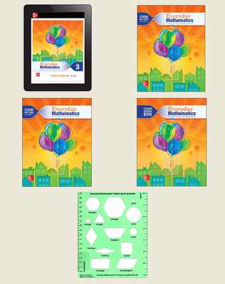 Everyday Mathematics 4 National Comprehensive Student Material Set, 6-Years, Grade 3