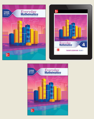 Everyday Mathematics 4 National Essential Student Material Set, 6-Years, Grade 4