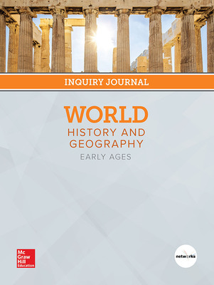 World History and Geography: Early Ages, Print Inquiry Journal, 6-year Fulfillment