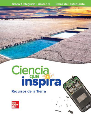 Inspire Science: Integrated G7, Spanish Write-In Student Edition, Unit 3