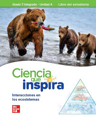 Inspire Science: Integrated G7, Spanish Write-In Student Edition, Unit 4