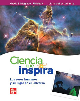 Inspire Science: G8 Integrated, Spanish Write-In Student Edition, Unit 4
