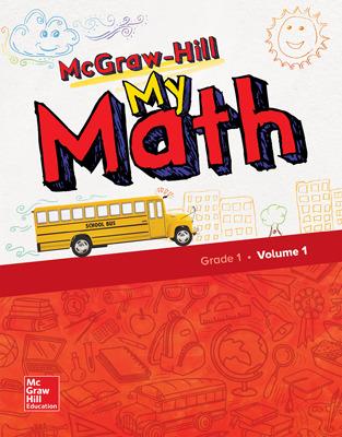 McGraw-Hill My Math Student Bundle with Redbird, 1-Year, Grade 1