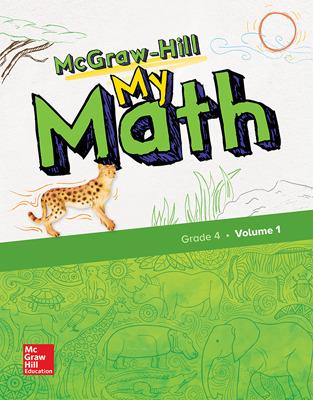 McGraw-Hill My Math Student Bundle with Redbird, 1-Year, Grade 4