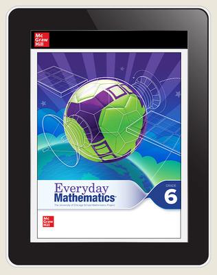 Everyday Mathematics 4 c2020 National Student Center Grade 6, 8-Year Subscription