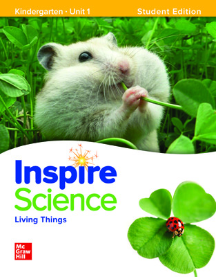 Inspire Science, Grade K Online Student Center with Print Student Edition Units 1-4, 3 Year Subscription