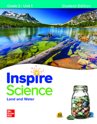 Inspire Science,  Grade 2 Online Student Center with Print Student Edition Units 1-4, 7 Year Subscription