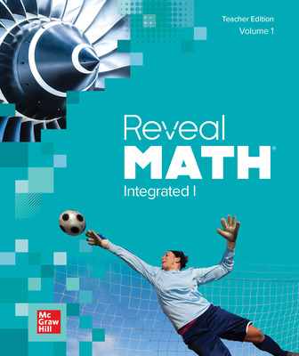 Reveal Math Integrated I Vol 1 Teacher Edition