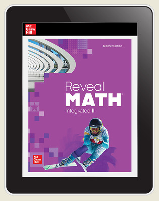 Reveal Math Integrated II Online Teacher Edition 6-year