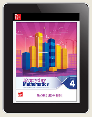 Everyday Mathematics 4 c2020 National Teacher Center Grade 4, 3-Year Subscription