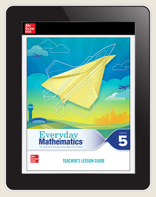 Everyday Mathematics 4 c2020 National Teacher Center Grade 5, 3-Year Subscription