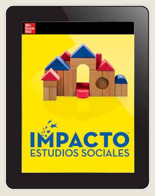 IMPACTO Social Studies, Aprender y trabajar juntos, Grade K, Online Teacher Center, 6-year subscription