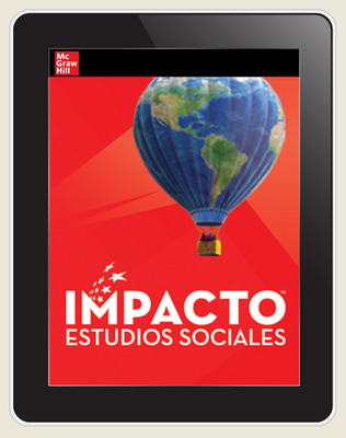 IMPACTO Social Studies, Nuestro lugar en el mundo, Grade 1, Online Student Center, 6-year subscription