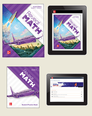 Reveal Math, Grade 5, Student Bundle with Arrive Math Booster, 1-year