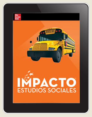 IMPACTO Social Studies, Nuestras comunidades, Grade 3, Online Student Center, 6-year subscription