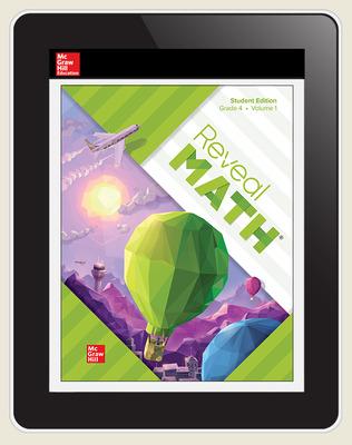 Reveal Math, Grade 4, Digital Student Center, 6-years