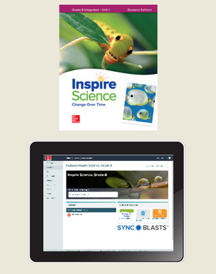 Inspire Science: Integrated G8 Comprehensive Student Bundle w/SyncBlasts, 6-year subscription