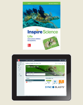 Inspire Science: Life Comprehensive Student Bundle w/SyncBlasts, 6-year subscription