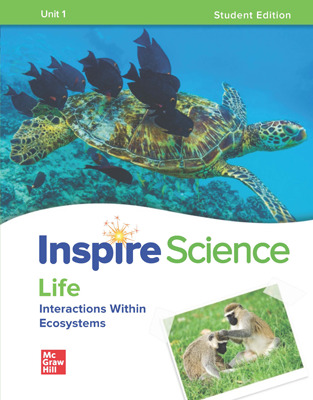 Inspire Science: Life Comprehensive Student Bundle w/SyncBlasts, 7-year subscription