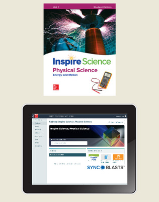 Inspire Science: Physical Comprehensive Student Bundle w/SyncBlasts, 6-year subscription