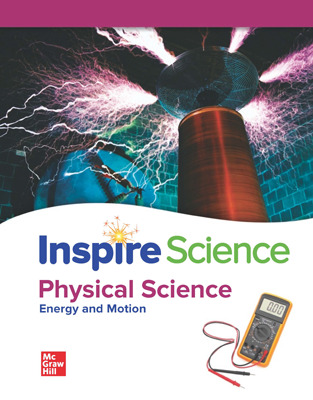 Inspire Science: Physical Comprehensive Student Bundle w/SyncBlasts, 7-year subscription