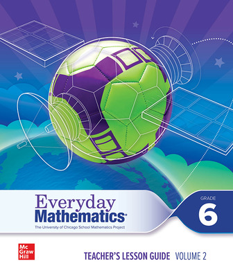 Everyday Mathematics 4 c2020 National Teacher Lesson Guide Grade 6 Volume 2