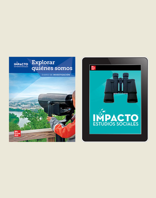 IMPACTO Social Studies, Explorar quiénes somos, Grade 2, Inquiry Print & Digital Student Bundle, 1 year subscription