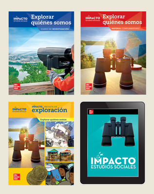 IMPACTO Social Studies, Explorar quiénes somos, Grade 2, Complete Print & Digital Student Bundle, 1 year subscription