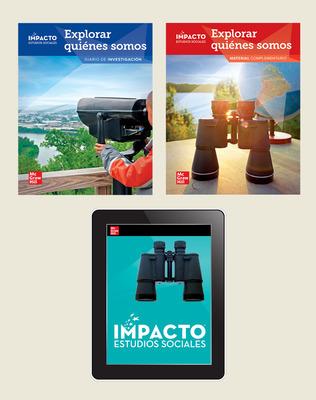 IMPACTO Social Studies, Explorar quiénes somos, Grade 2, Foundational Print & Digital Student Bundle, 1 year subscription