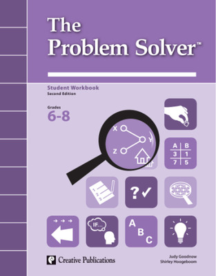 The Problem Solver, Grades 6-8: Student Workbook English