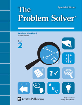 The Problem Solver, Grade 2: Workbook Spanish