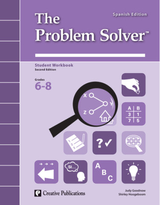 The Problem Solver, Grades 6-8: Workbook Spanish