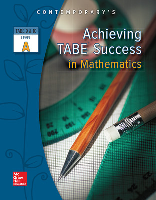 Achieving TABE Success In Mathematics, Level A Workbook