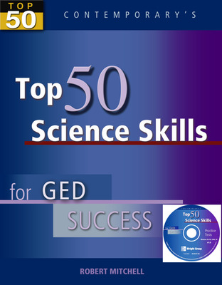 Top 50 Science Skills for GED Success, Student Text with CD-ROM