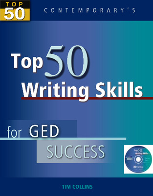 Top 50 Writing Skills for GED Success, Student Text with CD-ROM