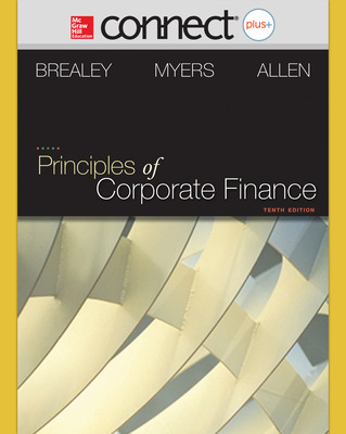 Connect Online Access for Principles of Corporate Finance