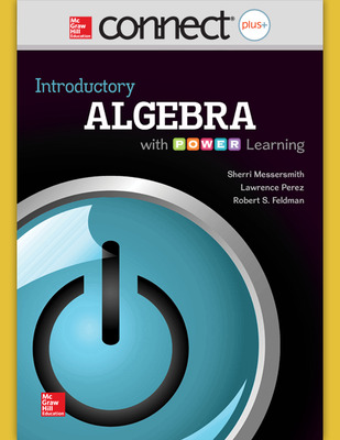 Connect Math hosted by ALEKS Online Access 52 Weeks for Introductory Algebra with P.O.W.E.R. Learning