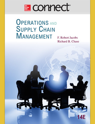 Connect Operations Management 1-Semester Online Access for Operations and Supply Chain Management 14e