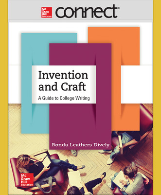 Connect Online Access for Dively Invention & Craft 1e with Connect Composition