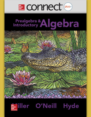 Connect Math hosted by ALEKS Online Access 52 Weeks for Prealgebra and Introductory Algebra