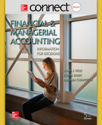 Connect 2-Semester Online Access for Financial and Managerial Accounting