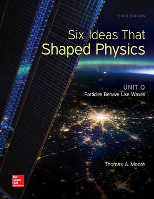 Six Ideas That Shaped Physics: Unit Q - Particles Behave Like Waves
